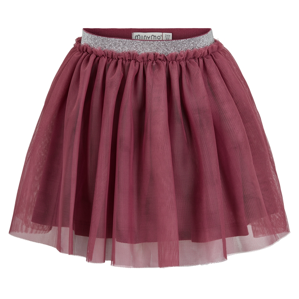 Skirt Tulle Crushed Berry