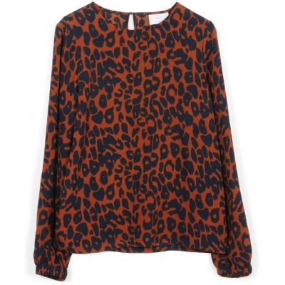 Sia Blouse Rusty