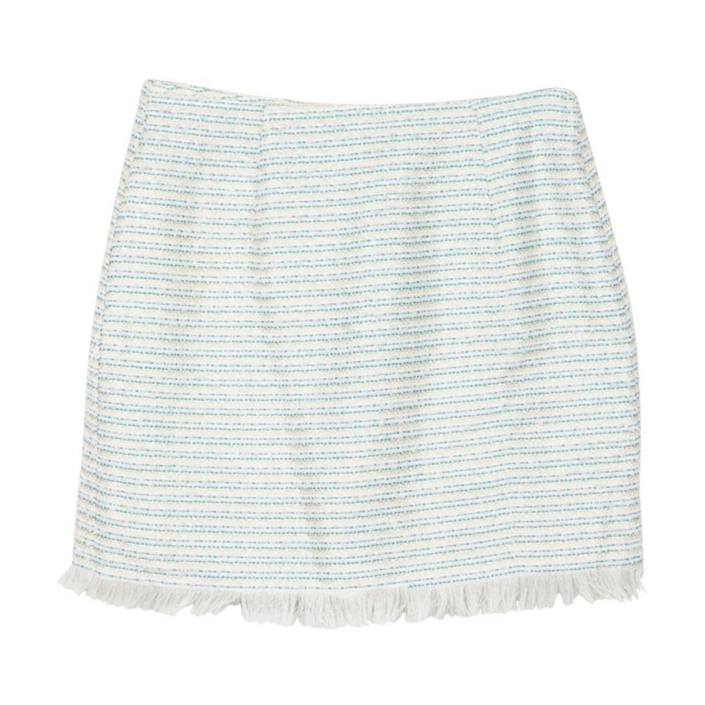 Steffenie Skirt White/Blue