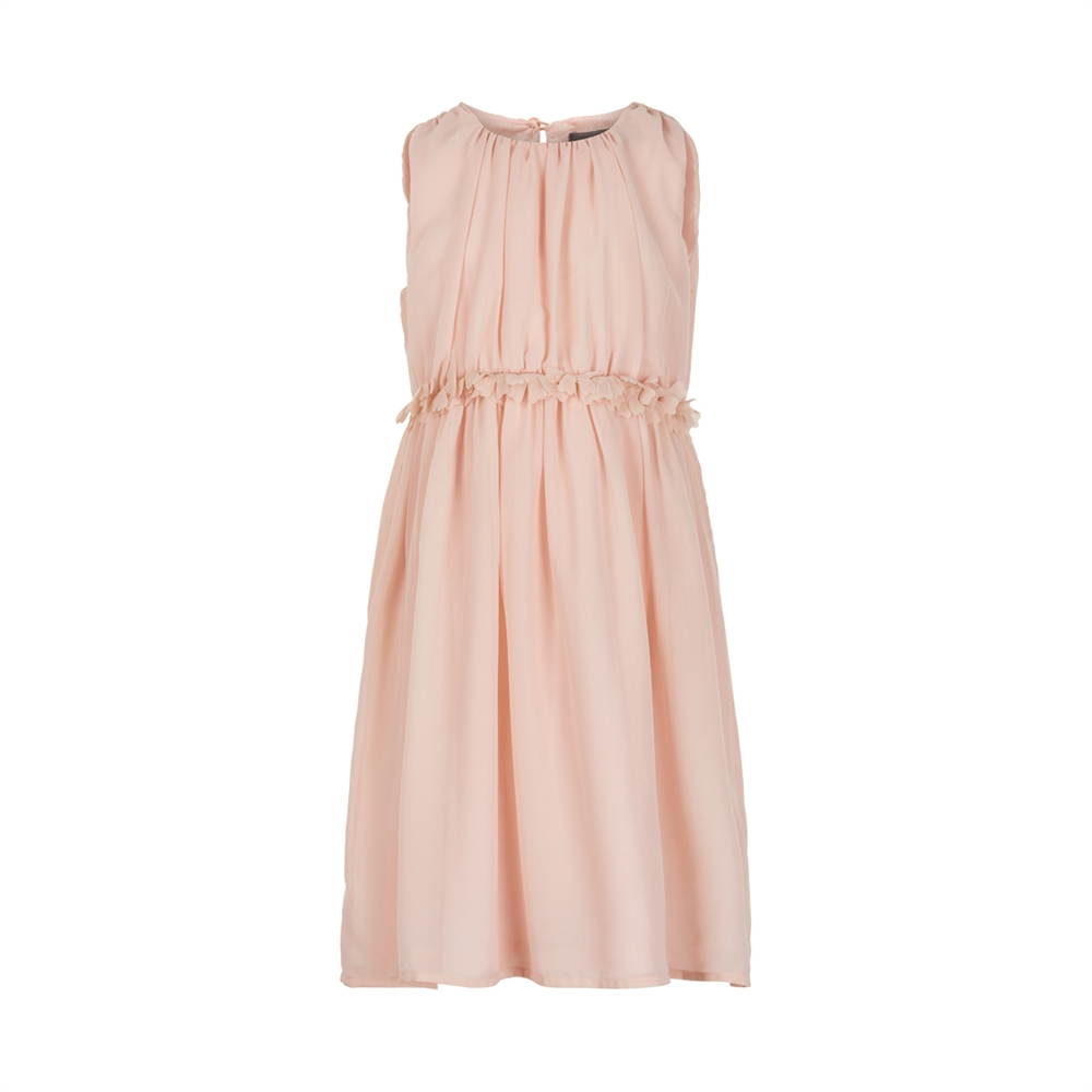 Dress chiffon rose smoke