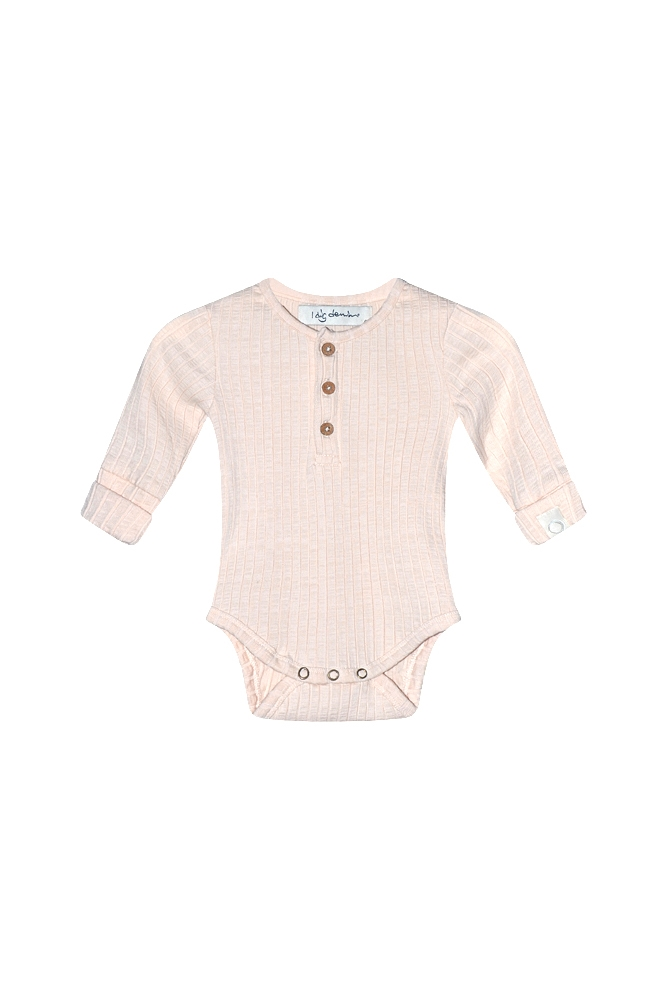 Bowie LS body organic pink