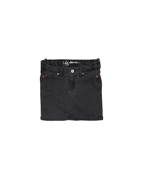 Livy Denim skirt black
