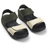 Blumer sandals Hunter/black mix