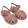 Bre Sandals dark rose