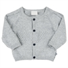 Knit cardigan Grey Melange