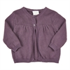 Knit cardigan Black Plum