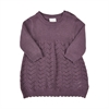 Knit dress Black Plum