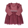 Dress LS Crushed Berry