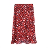 Sofia Skirt happy red