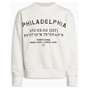 Alberte Crew Sweat Broken White