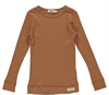 Plain Tee LS Modal Desert Red