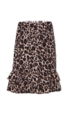 Betty kjol leopard