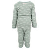 En Fant Playsuit Blue Surf Oekotex